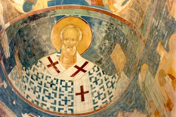 Fresco of Saint Nicholas