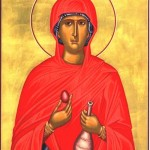 Orthodox Icon of St Mary Magdalene, Equal to the Apostles