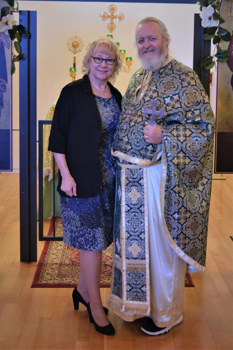 Fr. John and Kh. Marilyn